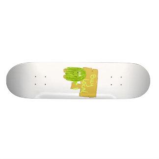 Olive Green Buy Local Skateboard