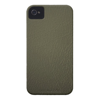 Olive Green Leather Look iPhone 4/4s Case-Mate iPhone 4 Case