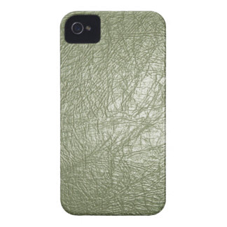 Olive Green Leather Look iPhone 4/4s iPhone 4 Case-Mate Case