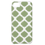 Olive Green Ornate Patterns iPhone 5C Case
