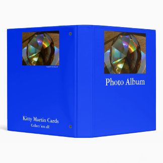 Olive Green Rainbow Photo Album 3 Ring Binder