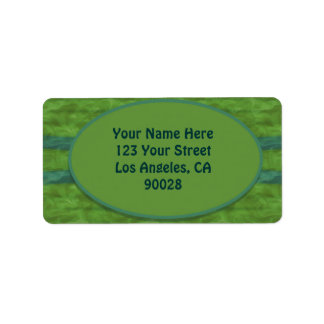 olive green teal  texture label
