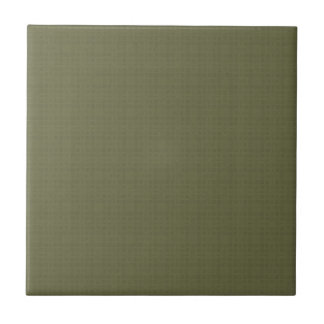 Olive Green Texture DIY Create Your Own Zazzle Ceramic Tile