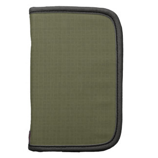 Olive Green Texture DIY Create Your Own Zazzle Folio Planner