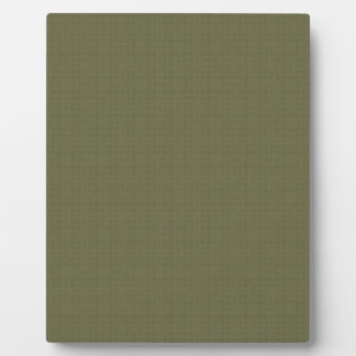 Olive Green Texture DIY Create Your Own Zazzle Plaque