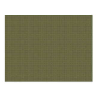 Olive Green Texture DIY Create Your Own Zazzle Postcard