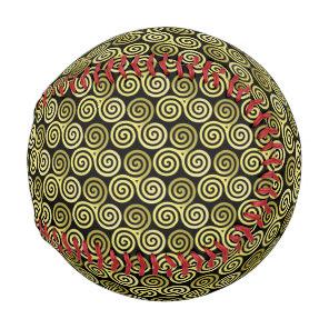 olive green Triple spiral Baseball