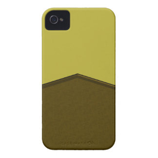 Olive Green Yellow texture point iPhone 4 Cover