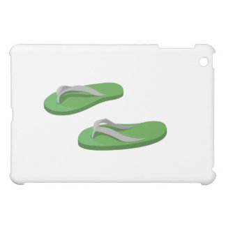 olive grey flip flops offset.png iPad mini cover