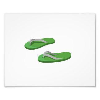 olive grey flip flops offset.png photo