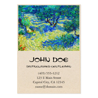 Olive Grove by Vincent Van Gogh Business Card