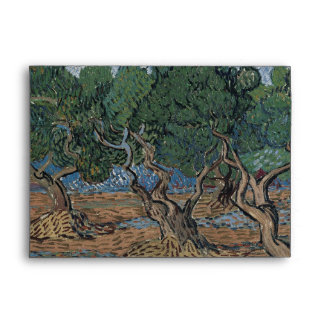 Olive Grove by Vincent Van Gogh Envelope