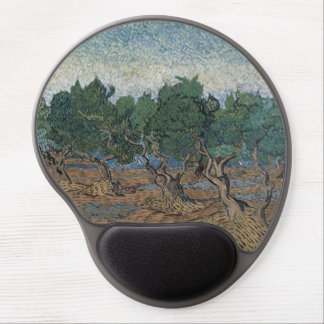 Olive Grove by Vincent Van Gogh Gel Mouse Pad