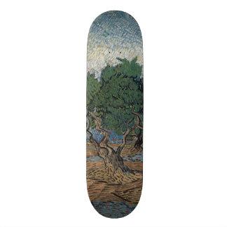 Olive Grove by Vincent Van Gogh Skateboard Deck