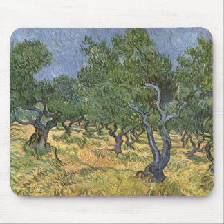 Olive Grove Mouse Pad