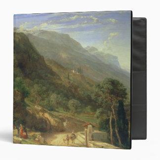 Olive Groves at Varenna Lake Como Italy 1861 o 3 Ring Binders