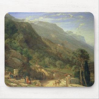 Olive Groves at Varenna, Lake Como, Italy, 1861 (o Mouse Pad