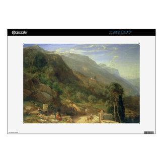 "Olive Groves at Varenna, Lake Como, Italy, 1861 (o 15"" Laptop Skins"