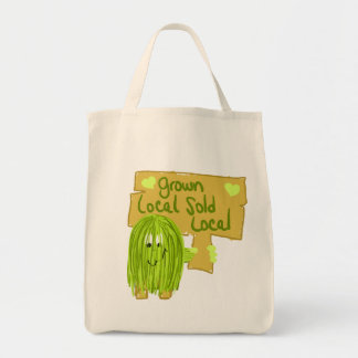 Olive grown local sold local tote bags