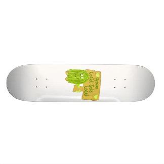 Olive grown local sold local skateboard decks
