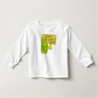 Olive grown local sold local toddler t-shirt