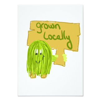Olive grown locally card