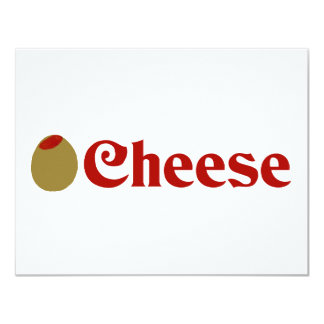 Olive (I Love) Cheese Card