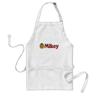 Olive (I Love) Mikey Adult Apron