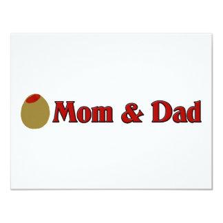 Olive (I Love) Mom & Dad Card