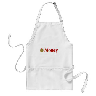 Olive (I Love) Money Adult Apron