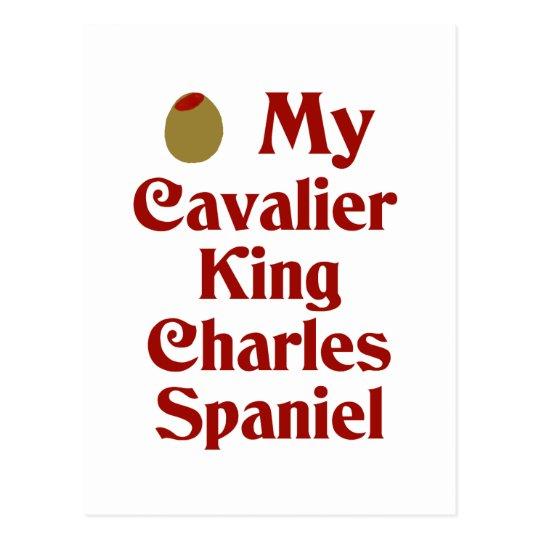 Olive (I Love) My Cavalier King Charles Spaniel Postcard