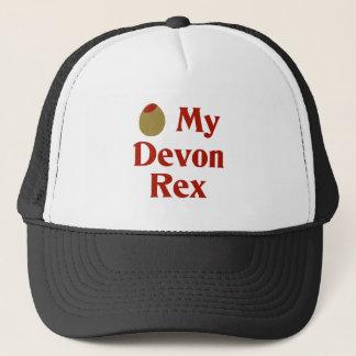 Olive (I Love) My Devon Rex Trucker Hat