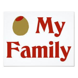 Olive (I Love) My Family Card