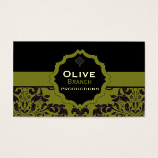 Olive Juice Business Card