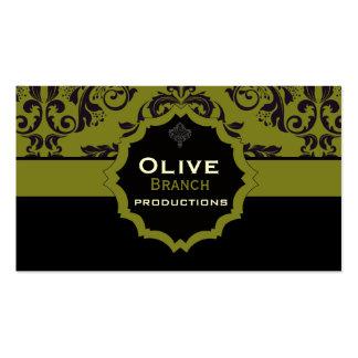 Olive Juice Business Card Templates