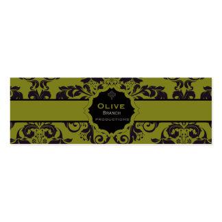 Olive Juice Business Card Template