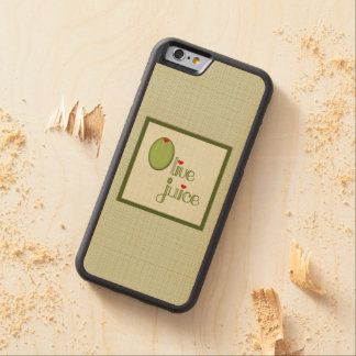 Olive Juice Carved® Maple iPhone 6 Bumper Case