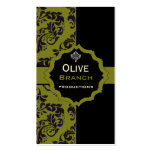 Olive Juice Double-Sided Standard Business Cards (Pack Of 100)