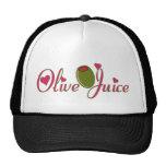 Olive Juice Mesh Hat