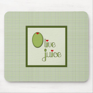 Olive Juice Mouse Pad
