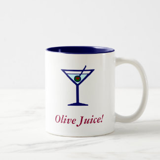 Olive Juice! Two-Tone Coffee Mug