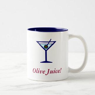 Olive Juice! Two-Tone Coffee Mug