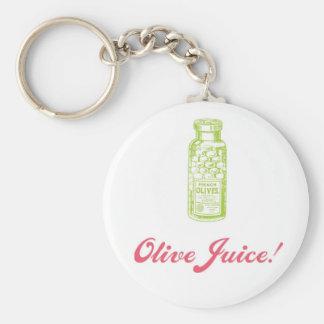 Olive Juice Valentine's Day Keyring