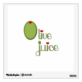 Olive Juice Wall Decals