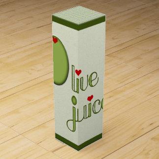 Olive Juice Wine Gift Box