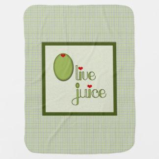 Olive Juice Baby Blanket