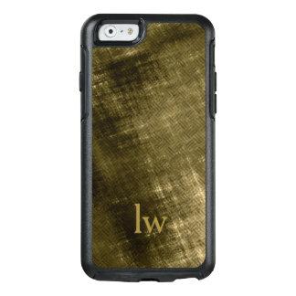 olive khaki black grungy tweed OtterBox iPhone 6/6s case