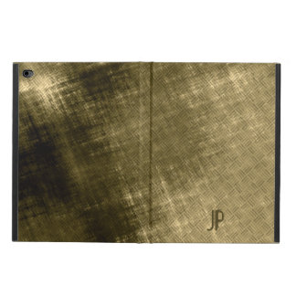 olive khaki black grungy tweed powis iPad air 2 case