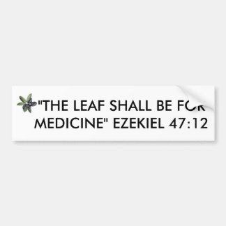 OLIVE LEAF BUMPER STICKER