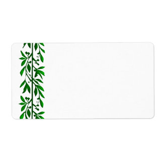 Olive Leaf Vine Art Large Labels